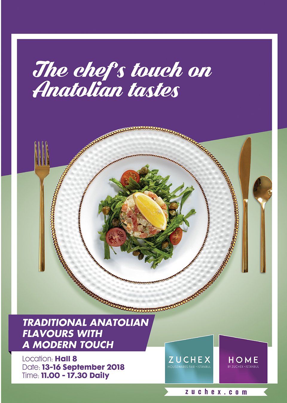 The chef's touch on Anatolian tastes